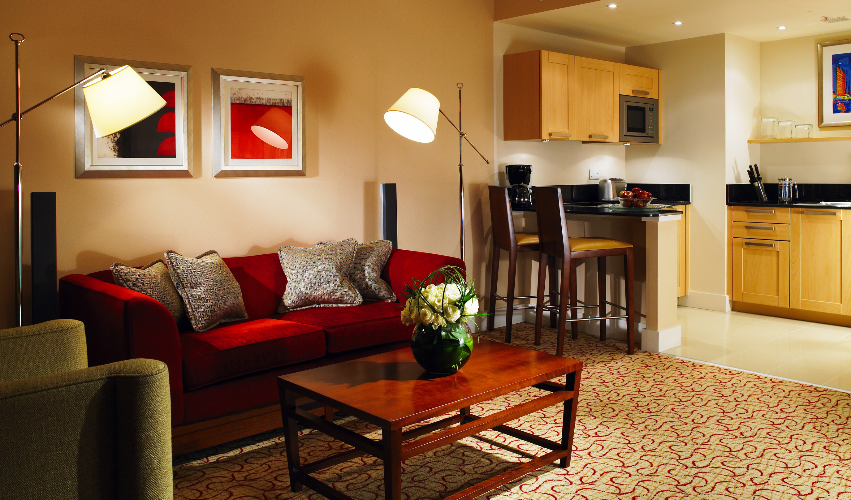 Comfortable and convenient Marriott Executive Apartments in London